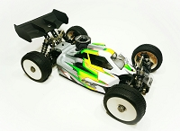 Leadfinger A2.1 TACTIC BODY (CLEAR) W/FRONT WING FOR TLR 8IGHT-X NITRO BUGGY