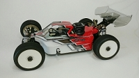 Leadfinger LFR A2 Tactic body (clear ) for Kyosho MP9 and MP10 nitro buggy