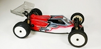 Leadfinger LFR A2 Tactic body w/2wing set (clear) for Kyosho RB7