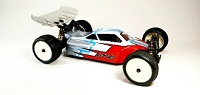Leadfinger LFR A2 Tactic body w/2 wing set (clear) for Kyosho ZX7