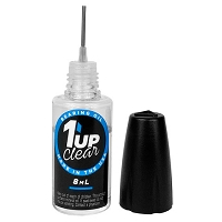 1up Racing Clear Bearing Oil – 8ml Oiler Bottle