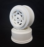 1:10 CYCLONE SC WHEEL LOSI TEKNO SCTE 4X4 WHITE