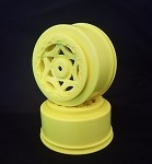 1:10 CYCLONE SC WHEEL LOSI TEKNO SCTE 4X4 YELLOW