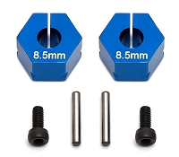 Team Associated FT Clamping Wheel Hexes, 8.5 mm