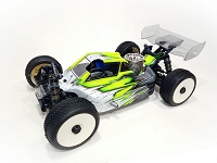 LFR A2.1 TACTIC BODY (CLEAR) W/ FRONT SCOOP FOR TEKNO NB48 2.0 NITRO BUGGY