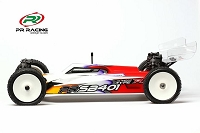 PR Racing SB401-R 1/10 ELECTRIC 4WD OFF ROAD BUGGY KIT LIGHTWEIGHT EDITION(SLIPPER CLUTCH)