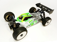 Leadfinger A2.1 TACTIC BODY (CLEAR) W/FRONT WING FOR TEKNO EB48 2.0