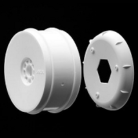 1:8 BUGGY EVO WHEELS WHITE (4 PCS.)