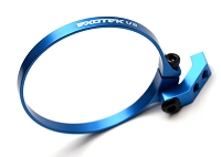 Exotek 1/8 EXO FAN MOUNT- CLAMP ON SET, for 1/8 E-buggies Blue