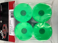 DE Racing Speedline ST Wheels for Associated T5M-T6.1 / Tekno ET410 / GREEN / 4pcs