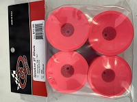 DE Racing Speedline ST Wheels for Associated T5M-T6.1 / Tekno ET410 / PINK / 4pcs