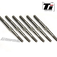 Lundsford 4mm Titanium Turnbuckle Kit for Tekno SCT410.3