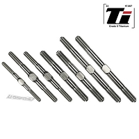 Lundsford 3/4/5mm Titanium Turnbuckle Kit for Tekno NB48 2.0