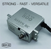 Reefs Raw 500 High Torque High Speed HV Waterproof Brushless Servo