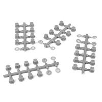 TKR6544B – Hinge Pin Inserts, Wheelbase Shims (requires TKR6523HD pins, EB/ET410)