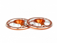 Avid Triad Wing Buttons Orange