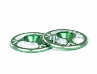 Avid Triad Wing Buttons Green