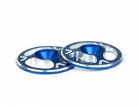 Avid Triad Wing Buttons Blue