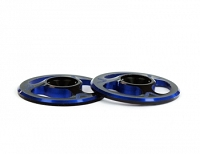 Avid Triad Wing Buttons Dual Black Blue