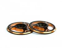 Avid Triad Wing Buttons Dual Black Orange