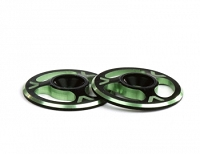 Avid Triad Wing Buttons Dual Black Green