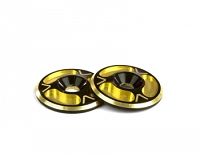 Avid Triad Wing Buttons HD Dual Black Gold