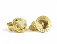 Avid Triad 17mm Capped Wheel Nuts Brass 4pcs