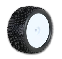 Raw Speed SuperMini 1/10 Buggy Rear Tire - Soft with Insert