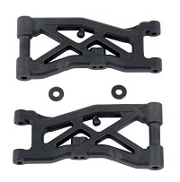 ASC92129 RC10B74 Front Suspension Arms, hard