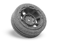 Hazard Radio Wheel | Dirt-Tech Foam Grip - M12