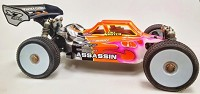 Leadfinger LFR Assassin body (clear) for Mugen MBX7/8 R eco buggy