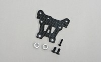 E2158 Graphite Front Upper Steering Plate: X8