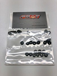 Pilot Carbon Fiber Ball Stud Washer Set (30 pieces)
