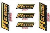 PT RC Racing Oil Sticker Sheet