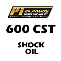 PT Racing RC Shock Oil 4 OZ Bottle 600 CST