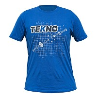Tekno RC T-Shirt (diff blueprint, Next Level, dark blue) XL