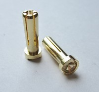 TQR2507 5MM BULLET - 6 POINT WITH LOW PROFILE TOP 19MM LONG