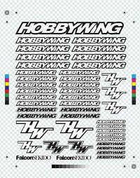 HOBBYWING Decal Sheet