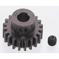 RRP8620   EXTRA HARD 20 TOOTH BLACKENED STEEL 32P PINION 5M/M